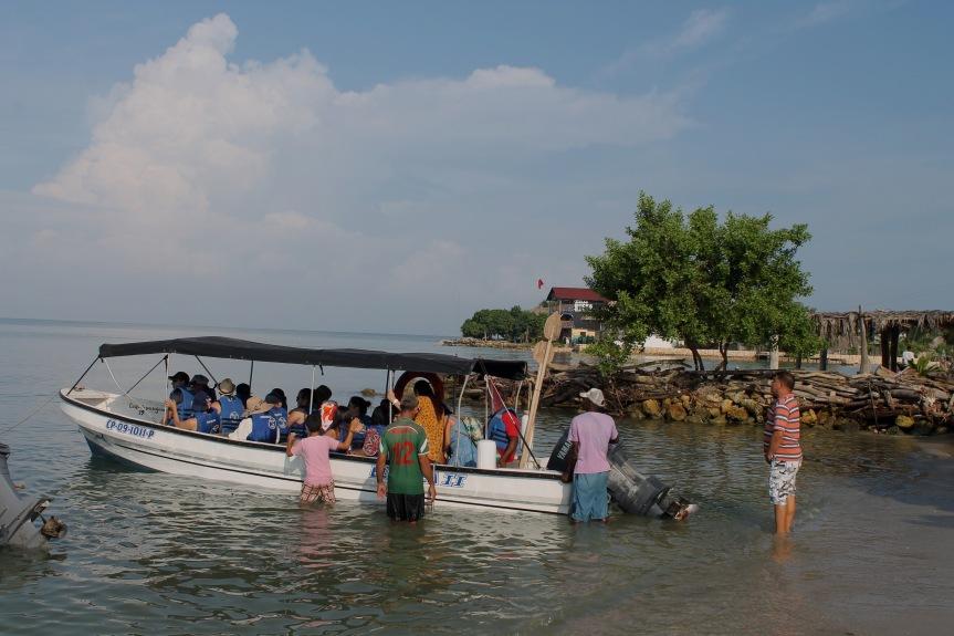Colombia: Islote de Santa Cruz con los cincosentidos